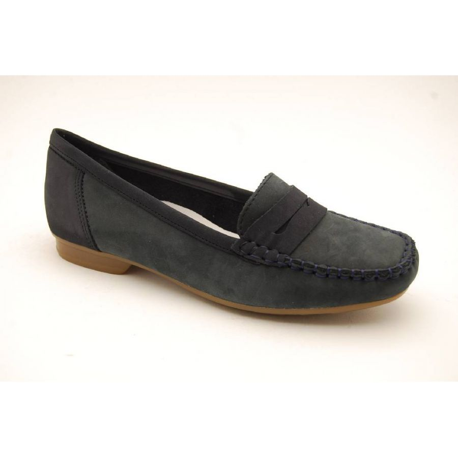 RIEKER navy loafer