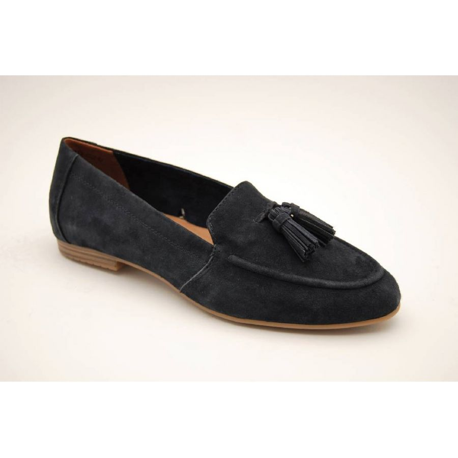 TAMARIS navy loafer