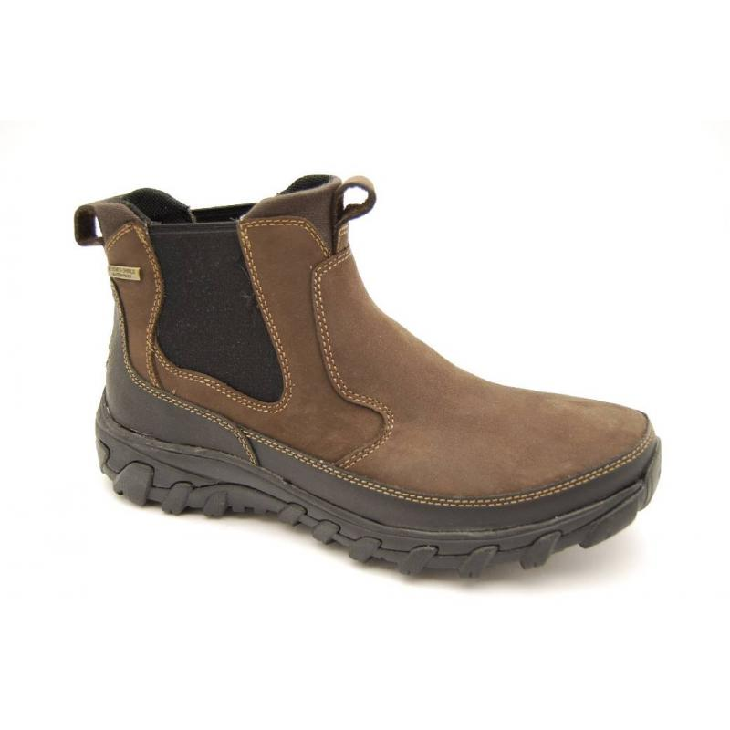 ROCKPORT brun boots WP