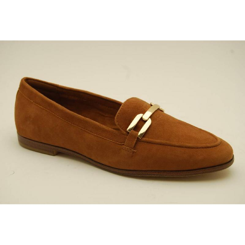 TAMARIS nut mocka loafer